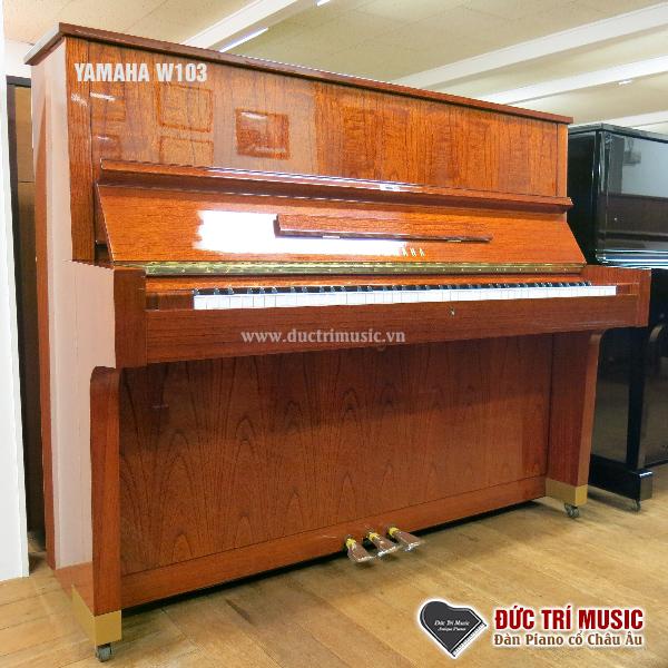 đàn piano yamaha w103 với hình ảnh thực tế