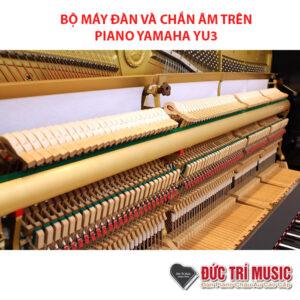 bộ máy đàn và chắn âm của đàn yamaha yu3